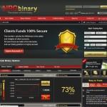 Screenshot Broker NRG Binary